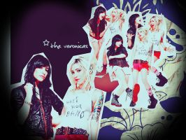 The Veronicas Wall1 by 11GabyCool11
