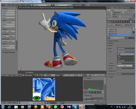 Sonic 2006 Models Rigging by Mike9711