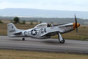 North American P-51D Mustang by PlaneSpotterJanB