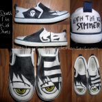 Shoes: Death The Kid by Faitherix