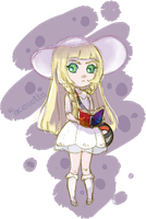 Pokemon Sun and Moon Lillie [Quick Sketch] by aceaeite