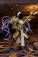 Tyrael at Katsucon 3 by SilverIceDragon1