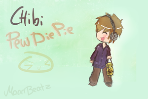 Chibi Pewdiepie ^^ by MoonBeatz