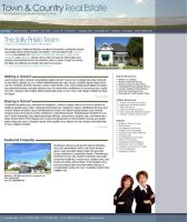 Real Estate Site by girlonthem00n