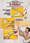 How to Poster - Tony's Pizza by thatpaperfox