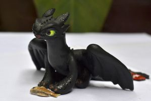 Toothless sculpture01 by crystalrain2702