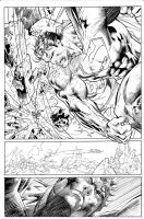 Jim Lee Superman inks by JosephLSilver
