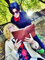 Aziraphale and Crowley- Good Omens I. by AWESOMEme11