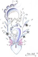 Aquarius tattoo design by AquaGanymedes