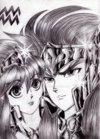 Aquarius no Camus -Saint Seiya by IDCabrera