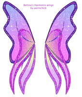 Bettina's Harmonix wings by werunchick
