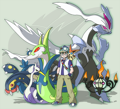 Contest: Team Zao (Unova) by RaiZhuW-The-Real