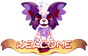 Welcome Banner by Pand-ASS