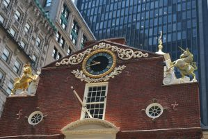 10: Old State House Closeup by BellaCielo