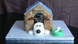 Gromit cake by laylah22