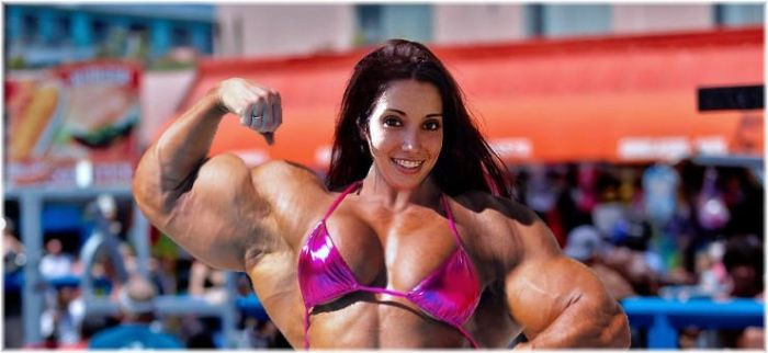 Muscle beach Megan 2 by SuperGirlStrength