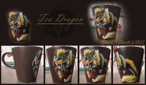 Tea-Dragon mug by Eleweth