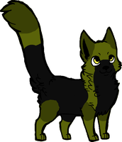 Halo cat adopt OPEN by waterflamewerewolf