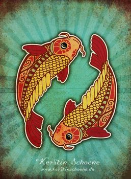 zodiac sign - pisces by KerstinS