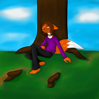 Ray's Tree by FallenFolf