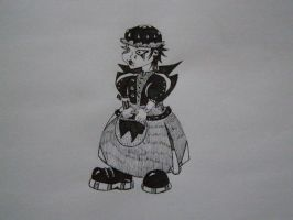 Goth!Little Red Ridinghood by KanaGo