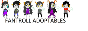Fantroll Adoptables by ayanzea