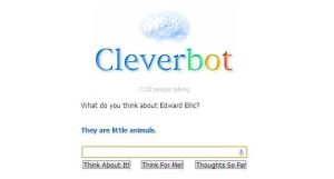 Cleverbot thinks Edward Elric is a little animal. by mistylovesrocklee