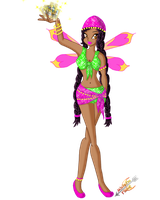 Winx OC: Sydonia by Laddy-of-Fire