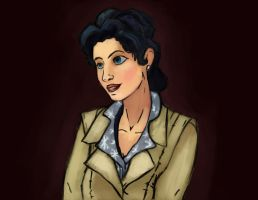 Snow White - The Wolf Among Us - Speed Paint by evilpacman3