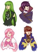 Code Geass by cookiekhaleesi
