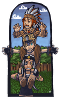 TOTEM POLE by DamnTorren