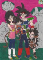 goku's family by thatguy4802
