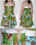 Retro-ish Yogi dress by ihni