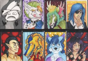 Christmas ATC Gifts by Demonic-Haze