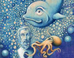 fin. detail Homer and octopus by DRagsdale