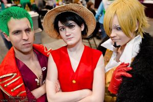 Monster Trio!  Animazement 2014 by kiokukaiba