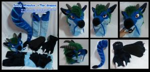 Stitch mimulus the dragon half suit by dragon-x2