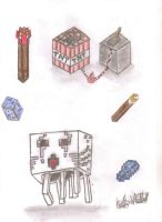 Minecraft things! by endninja
