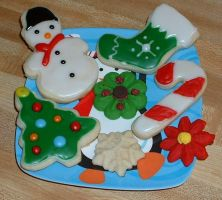 Christmas Cookies by Afina79