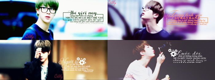 [Share PSD] JIN (BTS) Quotes by beellywu