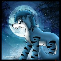 AT - Blue Moon by catkitte