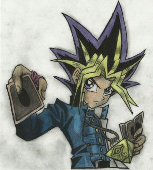 Yu-gi-oh Atem -Color- by Twin-Gamer