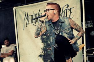 Matty Mullins (Memphis May Fire) Warped Tour 2012 by SilentFaithPhoto