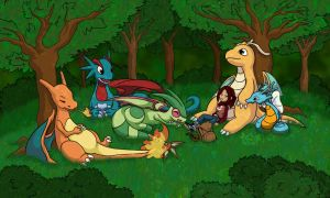 Dragon Pokemon Rest by tazsaints