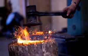 Blacksmith by GeorgeAmies