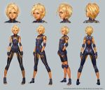Alacrity Body Suit Turnaround by JetEffects