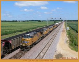 Corn, Coal and Cars by classictrains