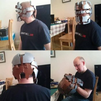 DEADSPACE Helmet W.I.P by Dax79