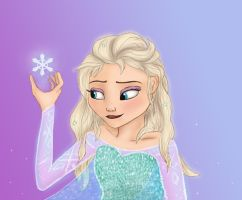 Let your hair down Elsa by frozenskiing