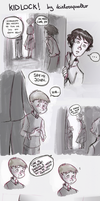 Kidlock. (the meeting) by ilcielocapovolto